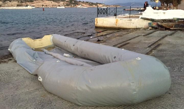 Fluchtboot_Hafen Pythagorion